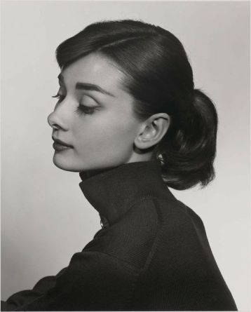 Audrey Hepburn photographed by Yousuf Karsh
