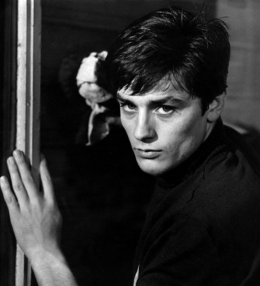 Portrait of Alain Delon for Rocco e i suoi fratelli directed by Luchino Visconti,