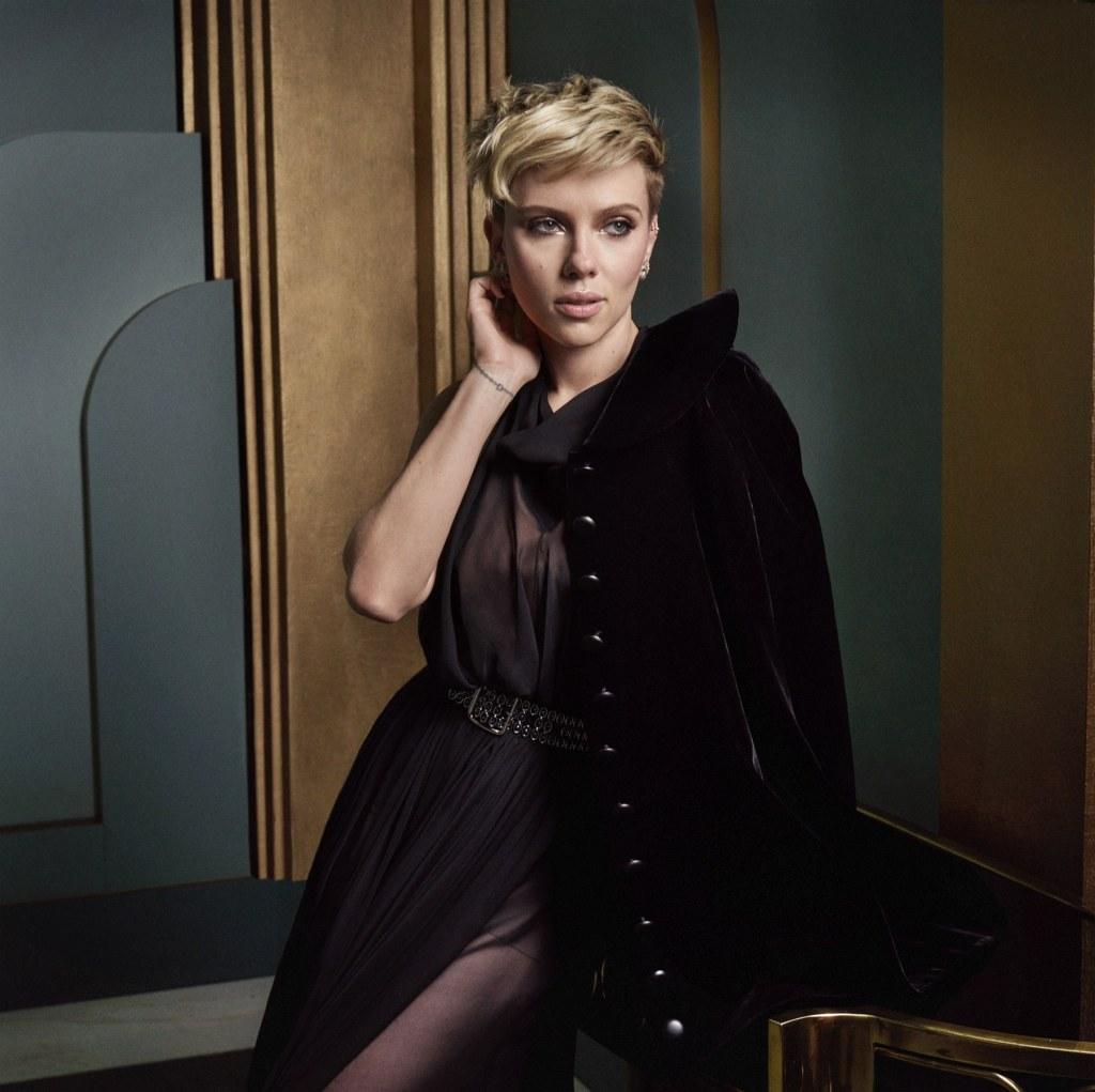 Oscars 2017 Scarlett Johansson Mark Seliger The Art Voyager