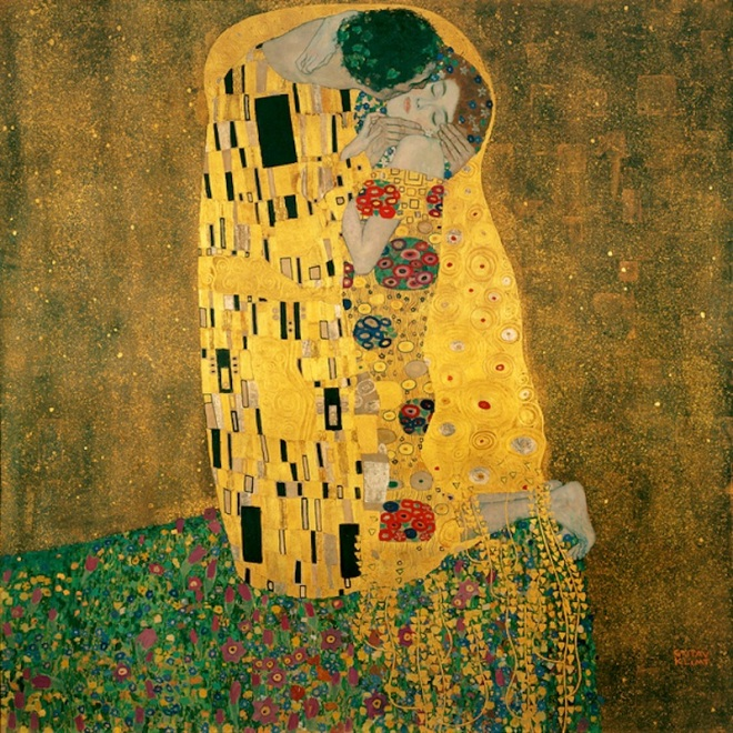 klimt-the-kiss