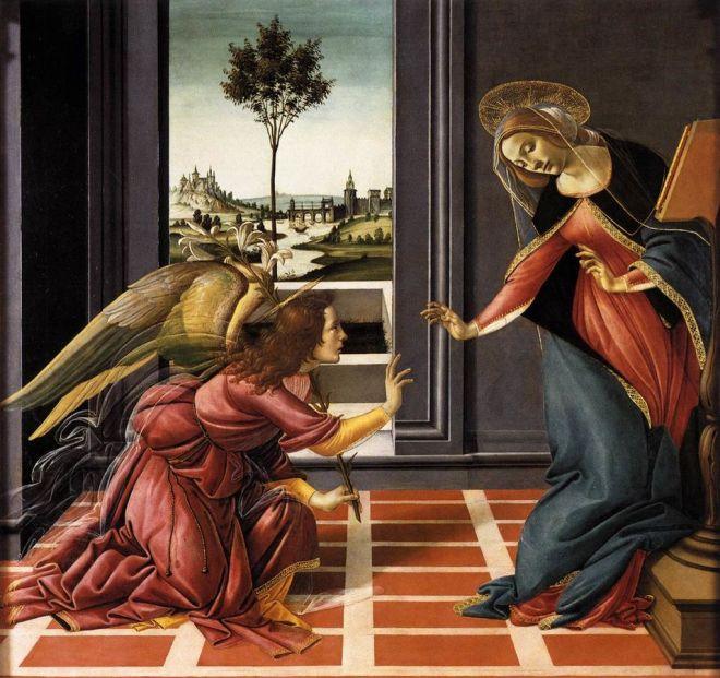 Botticelli, Annunciazione